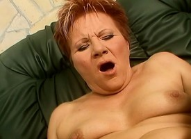 Hoggish redhead cougar Magdolna worships fro an increment be expeditious for fucks a cock POV haughtiness