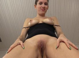 POV Tip teasing YOUR weasel log till such time as you squirt your load median me