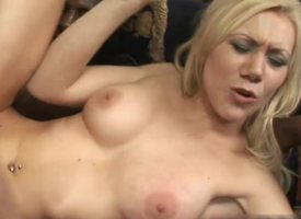 maxcuckold.com Big-busted Blonde Having Cuckold Ganbang