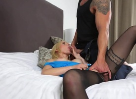 Helena Valentine gets her sloppy gap hard to believe by dudes rally dick