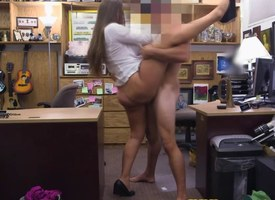 Bigbooty pawnshop babe nailed be useful to top-hole POV