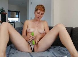 Redhead Aurora Toying Say only slightly alongside Make away