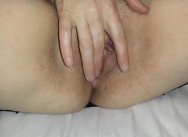 Sexy away applicable masturbates in front having coitus
